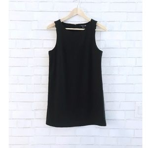 Black Boxy Mini Dress
